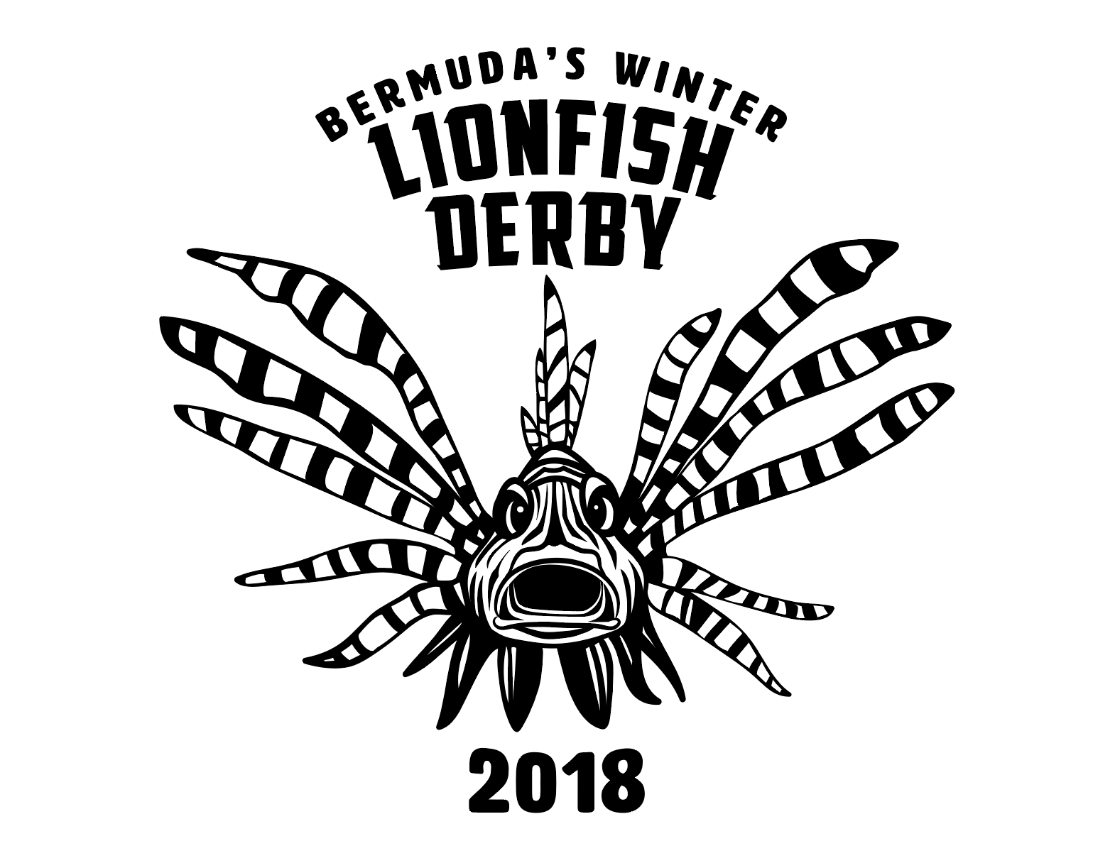 Bermuda's fourth annual Winter Lionfish Derby Logo