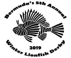 Bermuda's fourth annual Winter Lionfish Derby 2019 Logo